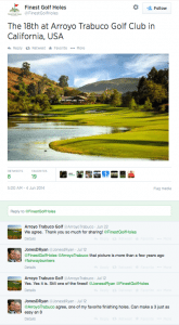 Social Media Check-Up for Golf Courses - Twitter