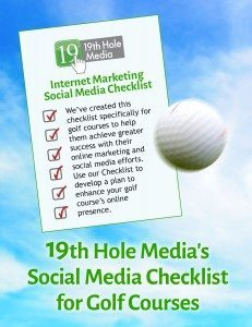 Social Media Checklist for Golf Courses
