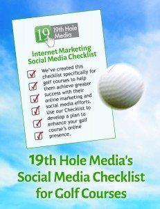 Social Media Checklist for Golf Courses