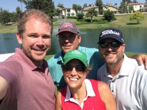 Zeb Welborn, Michael Lautenbach, Cameron Carr, Amy Spittle, CGCOA, California Golf Course Owner's Association, Tustin Ranch Golf Club
