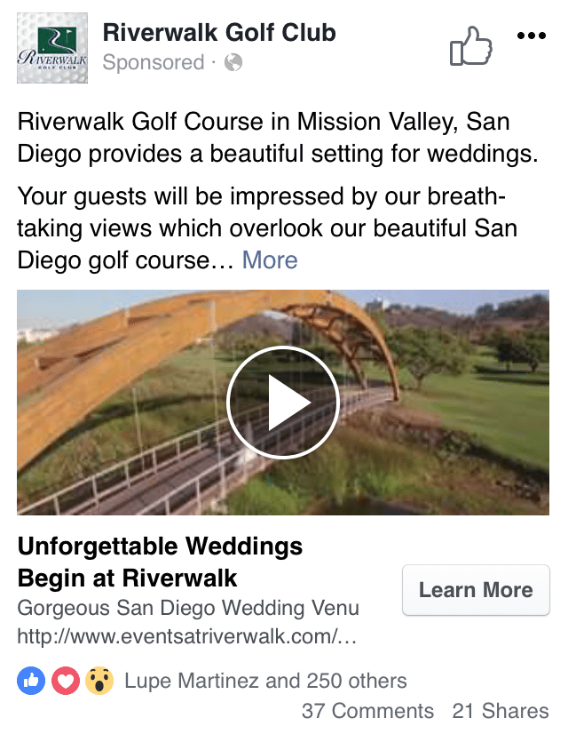 Riverwalk Golf Course Wedding Video