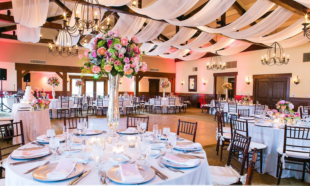 Wedding Reception at Arroyo Trabuco
