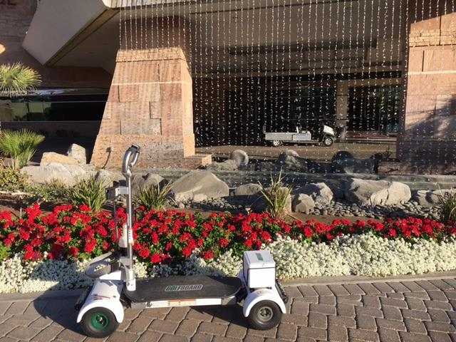GolfBoard at Indian Wells Golf Resort