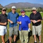 Team 19th Hole Media at the Bunkers Paradise Charity Golf Tournament at San Dimas Canyon Golf Course for the Special Olympics of Southern California