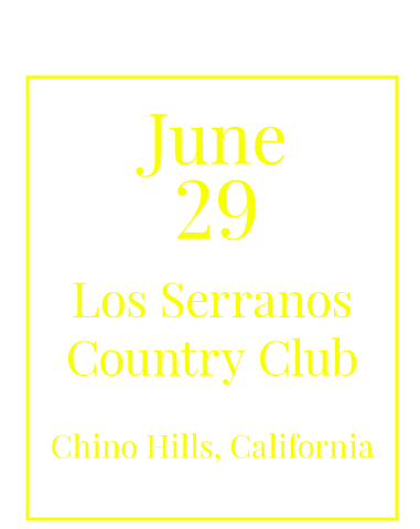 Southern California Charity Golf Classic on June 29, 2018, at Los Serranos Country Club, Chino Hills, CA